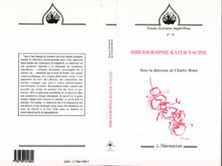 Couverture Bibliographie de Kateb Yacine
