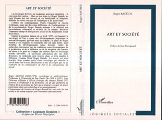 Couverture ART ET SOCIÉTÉ