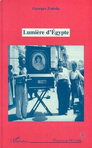 Couverture Lumière d'Egypte