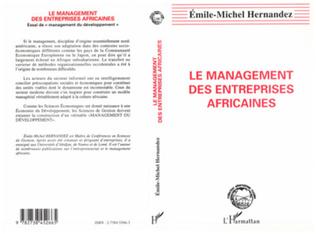 Couverture Le management des entreprises africaines