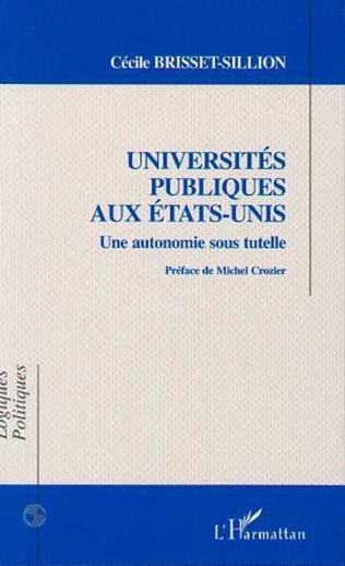 Couverture Universités publiques aux États-Unis