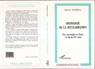 Couverture SOCIOLOGIE DE LA SECULARISATION