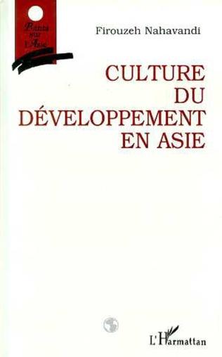 Couverture Culture du développement en Asie