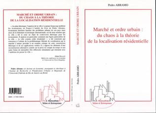 Couverture MARCHÉ ET ORDRE URBAIN : DU CHAOS A LA THEORIE DE LA LOCALIS