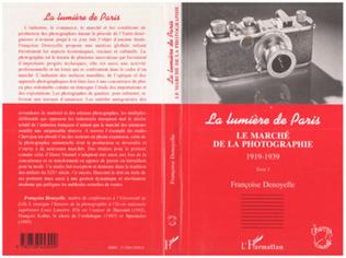 Couverture LE MARCHÉ DE LA PHOTOGRAPHIE 1919-1939