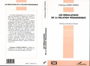 Couverture LES REGULATIONS DE LA RELATION PEDAGOGIQUE