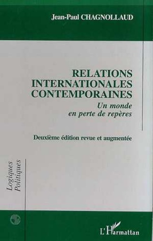 Couverture RELATIONS INTERNATIONALES CONTEMPORAINES