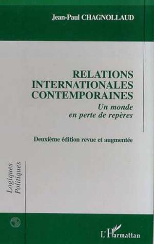 Couverture RELATIONS INTERNATIONALES CONTEMPORAINES