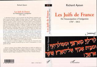 Couverture LES JUIFS DE FRANCE