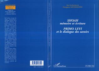 Couverture Shoah, mémoire et écriture