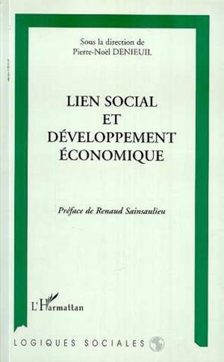 Couverture Lien social et développement économique