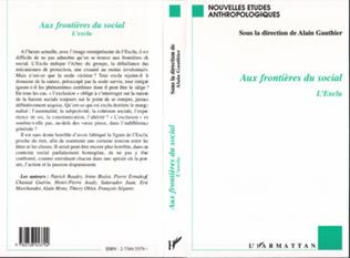 Couverture AUX FRONTIÈRES DU SOCIAL