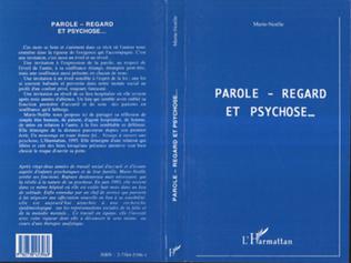 Couverture Parole, regard et psychose
