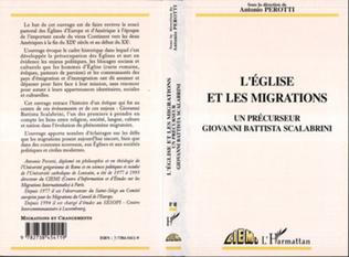 Couverture L'Eglise et les migrations