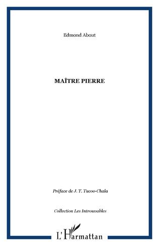 Couverture Maître Pierre