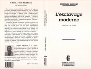 Couverture L'ESCLAVAGE MODERNE