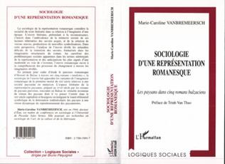 Couverture Sociologie d'une représentation romanesque
