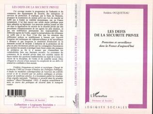 Couverture LES DEFIS DE LA SECURITE PRIVEE