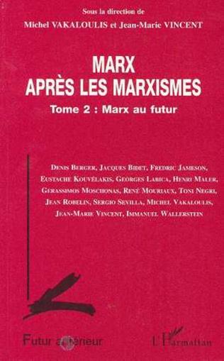 Couverture Marx après les marxistes