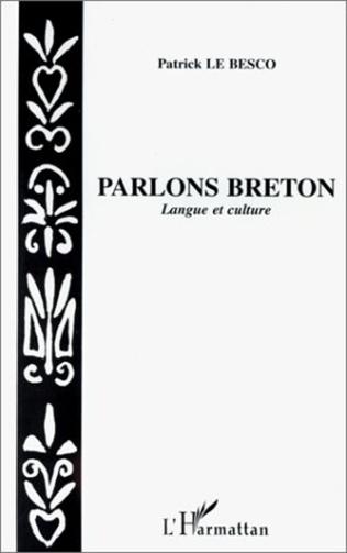 Couverture Parlons breton