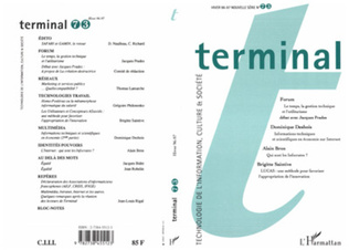 Couverture Terminal n°73
