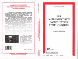 Couverture Les instrumentistes d'orchestres symphoniques