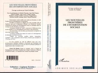 Couverture LES NOUVELLES FRONTIÈRES DE L'INTERVENTION SOCIALE