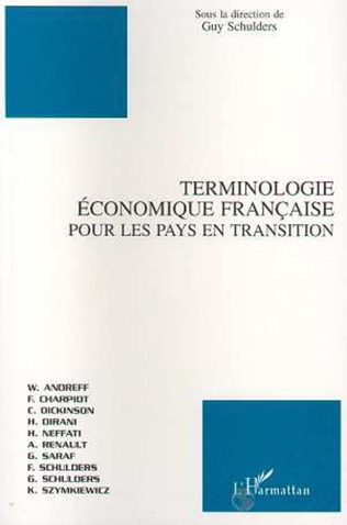 Couverture TERMINOLOGIE ECONOMIQUE FRANÇAISE POUR LES PAYS EN TRANSITION