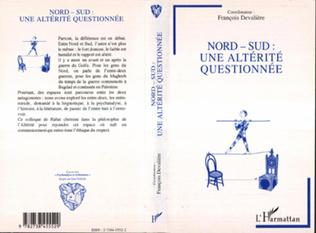 Couverture NORD-SUD : UNE ALTERITE QUESTIONNEE