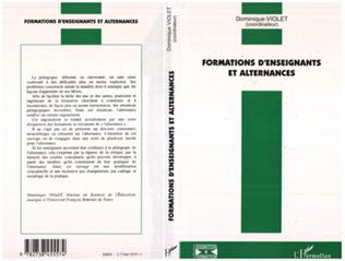 Couverture Formations d'enseignants et alternances