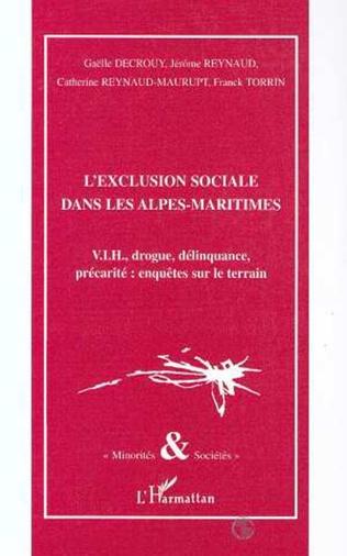 Couverture L'EXCLUSION SOCIALE DANS LES ALPES-MARITIMES