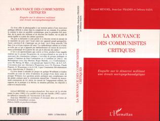 Couverture LA MOUVANCE DES COMMUNISTES CRITIQUES