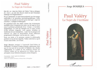 Couverture Paul Valéry