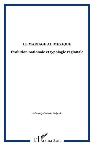 Couverture Le mariage au Mexique