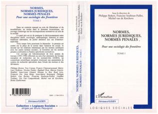 Couverture Normes, normes juridiques, normes pénales