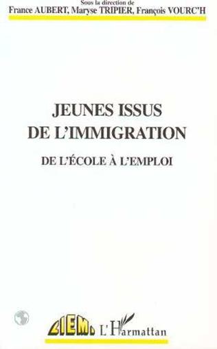 Couverture Jeunes issus de l'immigration