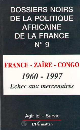 Couverture FRANCE-ZAÏRE-CONGO 1960-1997
