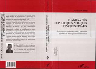 Couverture Communautés de politiques publiques et projets urbains