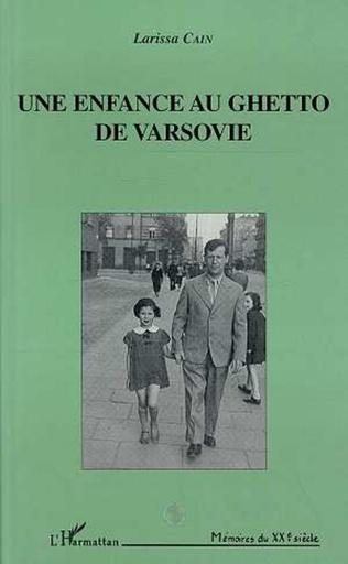 Couverture Une enfance au ghetto de Varsovie