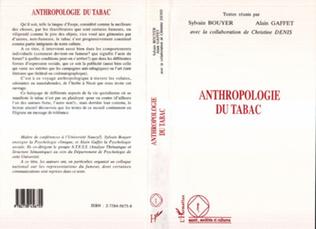Couverture ANTHROPOLOGIE DU TABAC