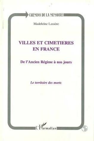 Couverture Villes et cimetières en France