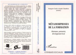Couverture METAMORPHOSES DE LA FORMATION