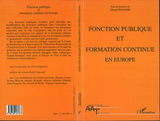 Couverture Fonction publique et formation continue en Europe