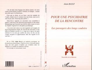 Couverture Pour une psychiatrie de la rencontre
