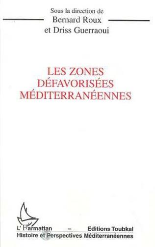 Couverture Les zones défavorisées méditerranéennes
