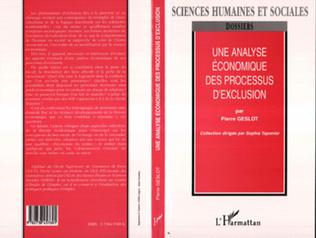 Couverture UNE ANALYSE ÉCONOMIQUE DES PROCESSUS D'EXCLUSION
