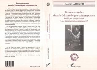 Couverture Femmes Rurales dans le Mozambique Contemporain