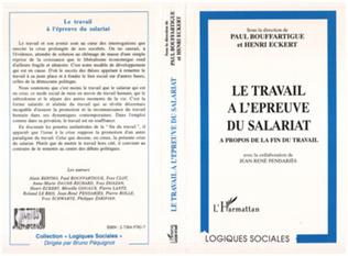 Couverture LE TRAVAIL A L'EPREUVE DU SALARIAT