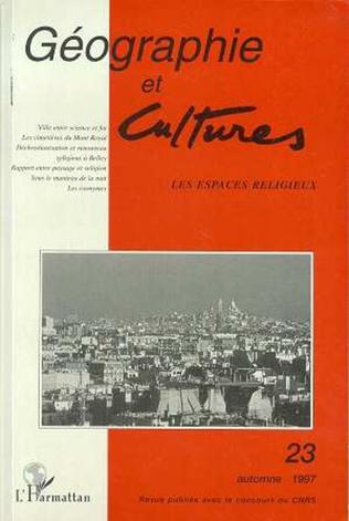 Couverture Géographie et cultures n°23