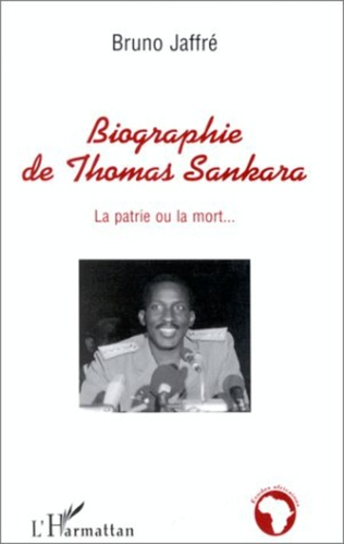 Couverture Biographie de Thomas Sankara